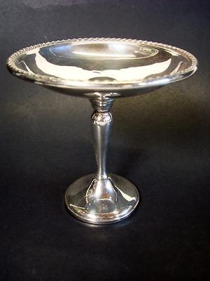 """Vintage Gorham Sterling Silver Tall Compote 6"""" tall"""