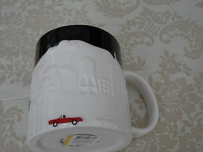Starbucks Coffee Mug LOS ANGELES Relief series mug 2012 NWT