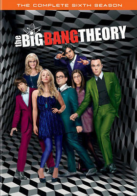 The Big Bang Theory: The Complete Sixth 6 6th Season (DVD, 2013, 3-Disc Set) NEW
