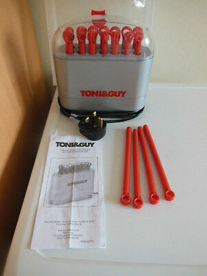 Toni & Guy Twist And Curl Hot Sticks Set of 18 Curlers Rollers Hair Styler