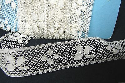 7+ YARDS ANTIQUE EARLY 1900s LACE TRIM