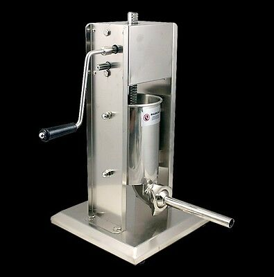 New 2 Speed Commercial 5L Restaurant Vertical Stainless Steel Sausage Stuffer