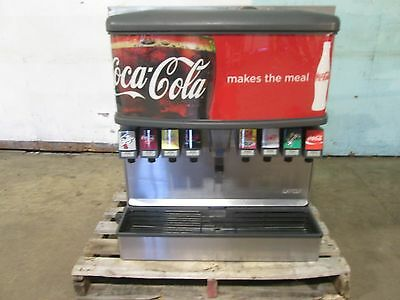 """LANCER 4500"" HD COMMERCIAL (nsf) LIGHTED 8 HEADS SODA w/ICE DISPENSER MACHINE"