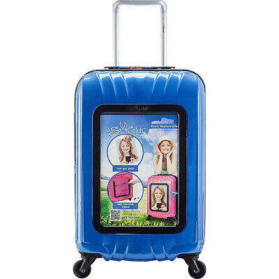 "Travelers Club Luggage Selfie Club 20"" Personalized Hardside Carry-On NEW"