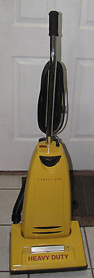 Carpet Pro CPU2T Heavy Duty Commercial Upright Vacuum Cleaner Yellow