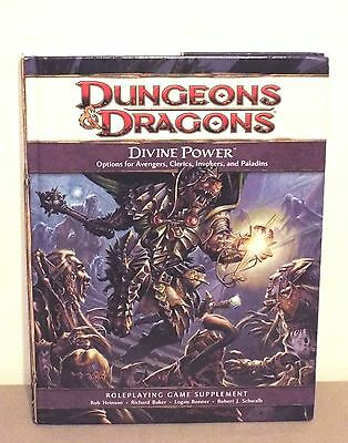 Dungeons And Dragons Divine Power Game Supplement 2009 4Th Ed Euc!!