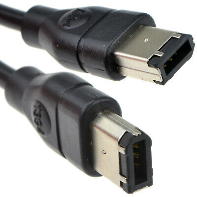 2m Firewire IEEE-1394 DV Cable 6 to 6 pin (PC or Mac) [007139]