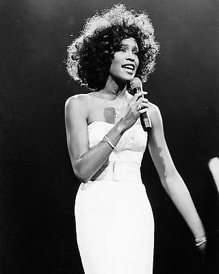 "Whitney Houston 10"" x 8"" Photograph no 2"