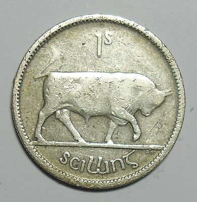 Ireland : Irish Shilling 1930 . Silver