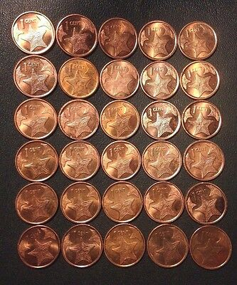 Old Bahamas Coin Lot - 30 Low Mintage Coins - Excellent - Lot #M24
