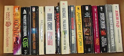 Lot of Vintage Paperback Adult Reading Books  Palmer, Greeley, Koontz & more