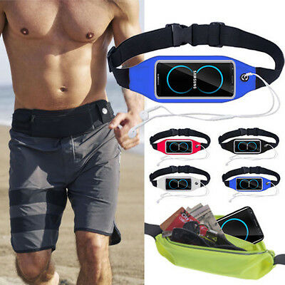 Waterproof Sport Waist Belt Bag Fanny Pack Running For Samsung Galaxy S9/S8/Plus