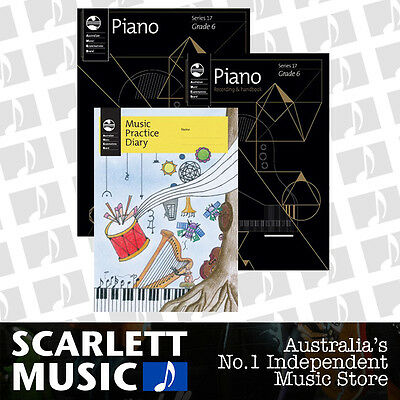 AMEB - Piano Series 17 - Grade 6 Student Pack *BRAND NEW*