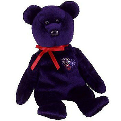 TY Beanie Baby - SPARKS the Bear (UK Exclusive) (8.5 inch) -MWMTs Stuffed Animal