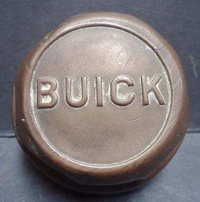 1920's Buick Hub Cap Grease Cap with Threaded Center Wheel Brass