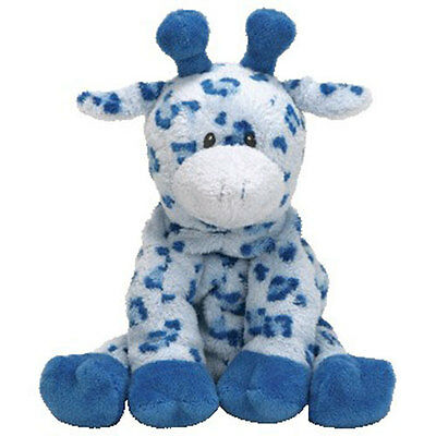 Baby TY - BABY TIPTOP BLUE the Giraffe - MWMTs BabyTy Soft Toy