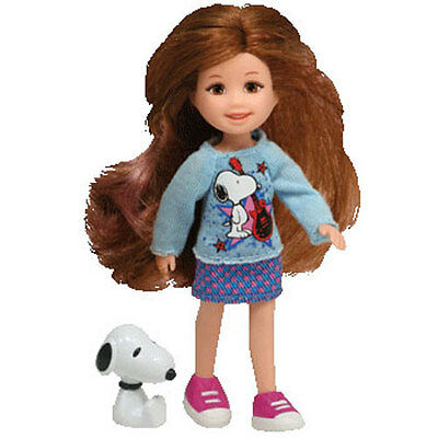 TY Li'l Ones - SNOOPY with Girl Doll (4 inch) - New in Box