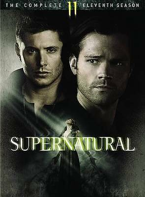 Supernatural:The Complete Eleventh Season 11 (DVD, 2016, 6-Disc Set) Brand New!