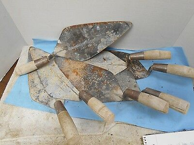 LOT of Marshalltown Masonry Trowels
