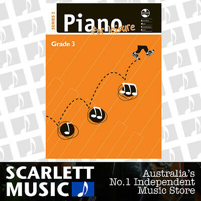 AMEB - Piano for Leisure - Series 2 - Grade 3 ( Three / Third ) *BRAND NEW*