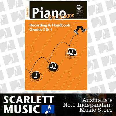 AMEB Piano for Leisure Series 2 Recording & Handbook- Grade 3 & 4 (Three & Four)
