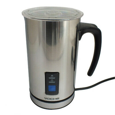 Voche® Cordless Stainless Steel Electric Milk Frother & Warmer Cappuccino Foamer