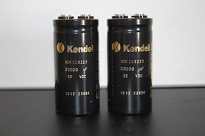 New kendeil PSU Smoothing Capacitors for Naim Audio equipment