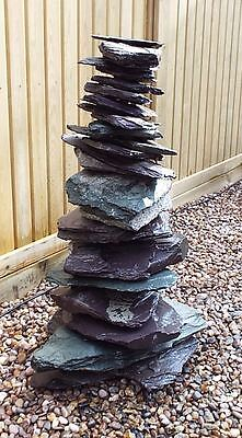 Real Slate Garden Water Feature Cascade Waterfall