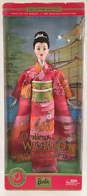 Barbie Collectibles Dolls Of The World Princess Of Japan NEW Unopened