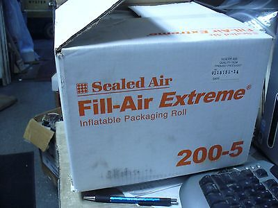 "Sealed Air Fill Air Extreme 5""x 8"" packing bags.4200/ roll Shop Waz 4 Best Price"