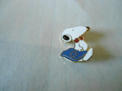 Vintage Snoopy Cloisonne Pin  Dated 1958