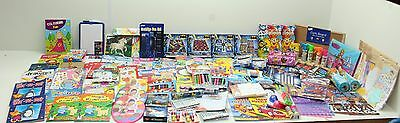 Wholesale Job Lot 100+ Mixed Kids Stock Toys Books Games Stickers Craft  Etc