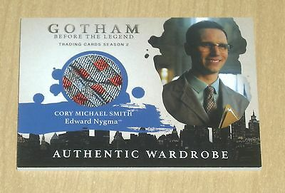 2017 Cryptozoic Gotham season 2 wardrobe costume Cory Michael Smith NYGMA M20