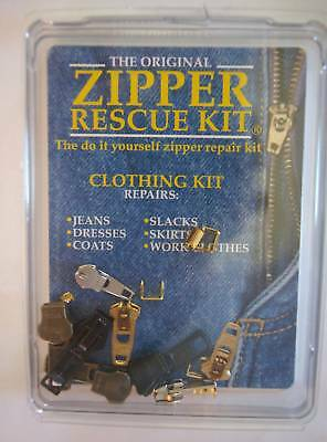 Zipper rescue clothing do it yourself diy zipper repair kit the zipper rescue clothing zipper repair kit solutioingenieria Images