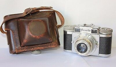 Braun Paxette Rangefinder Camera with  45mm f/2.8 lens  Prontor SVS