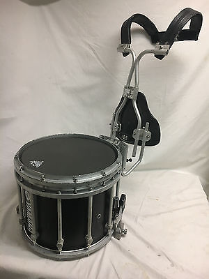 """Yamaha Field Corps Black Forest Marching Snare Drum & Harness Carrier 22"""" X 14"""""""