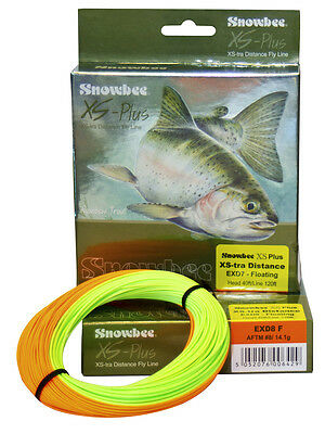 Snowbee NEW XS-TRA Distance Floating Shooting Head Fly Fishing Lines - Free P+P