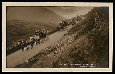 Dunmail Raise photo Coaches horse carriage postcard UK