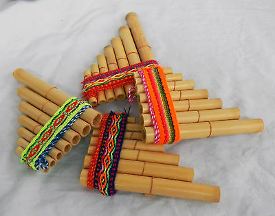 Peruvian Pan Pipes - Small Size - BNWT