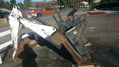 """Bobcat Backhoe attachment 811 with 24"""" Bucket East San Diego County"""