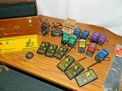 Huge Lot Robic Sports Timers SC505 Equine Racing Infrared Wireless/ MX25 Display