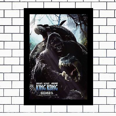 King Kong... - A3 / A4 - Framed Or Unframed Poster