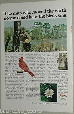 1967 Sinclair Petroleum advertisement, Dauphin Island Sanctuary, Alabama