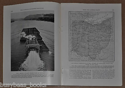1932 magazine article about OHIO, USA State, people history etc color photos