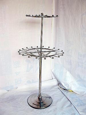 1X 2-Tier Revolving Belt/Tie/Scarf Display Rack