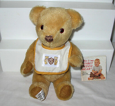 "12"" Nisbet Golden Teddy Bear ~ England 1981"