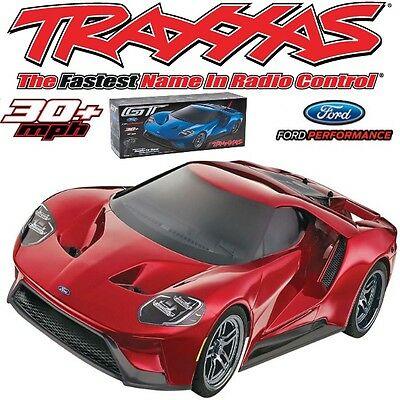 Traxxas   Scale Rtr Electric Ford Gt Awd On Road