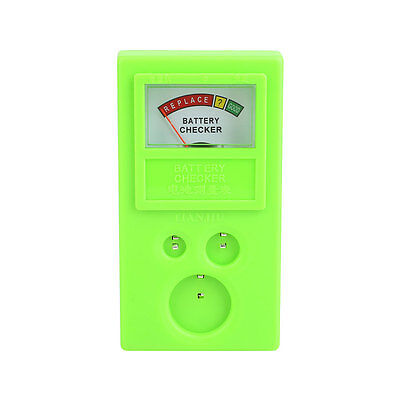 Watch Button Cell Battery Power Volt Tester Checker CR1620 CR1616 Green