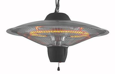 1500W Heater Electric fire Tent Heating Lamp Screen Lights Infrared Carbon