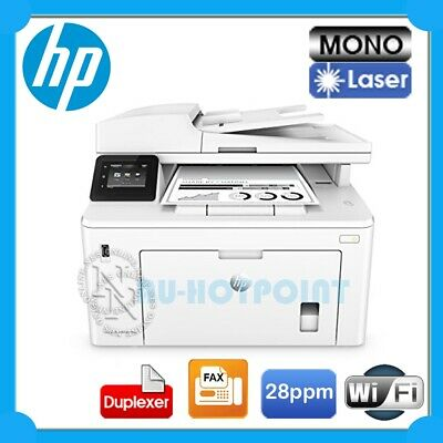 HP LaserJet Pro M227fdw 4in1 Mono Laser Wireless MFP Printer+FAX+Duplex [G3Q75A]